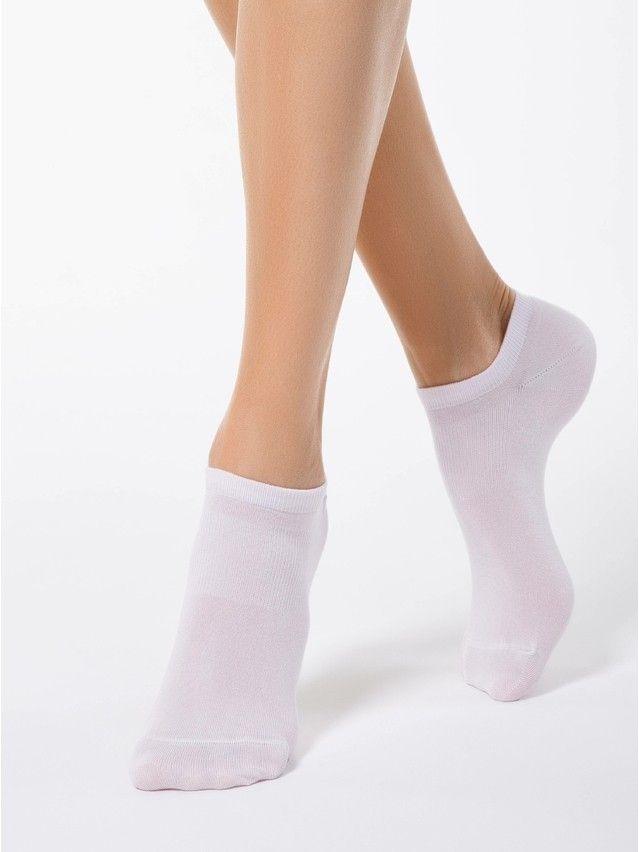 Skarpety damskie wiskozowe ACTIVE (ultrakrótkie, tencel) 15С-77СП, r.23, 079 jasnoróżowy - 1