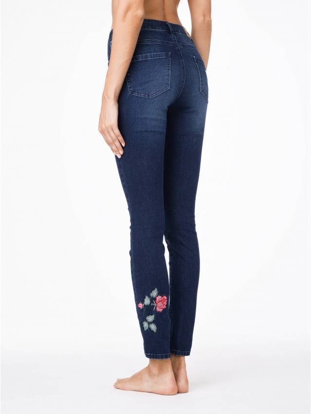 Spodnie denim CONTE ELEGANT CON-53, r.170-94, ciemnoniebieski - 2
