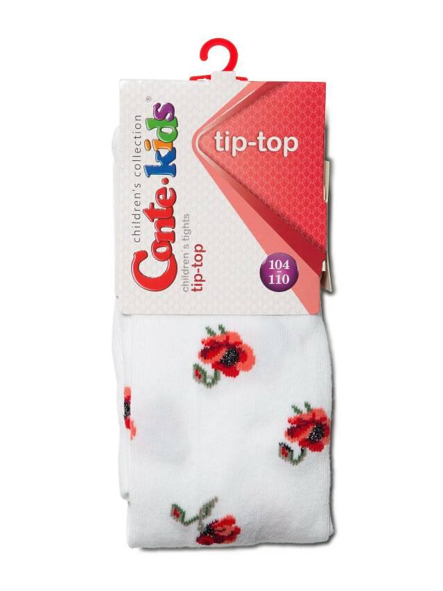 Rajstopy dla dzieci TIP-TOP (7С-78СП),r. 104-110 (16),410 biały - 2