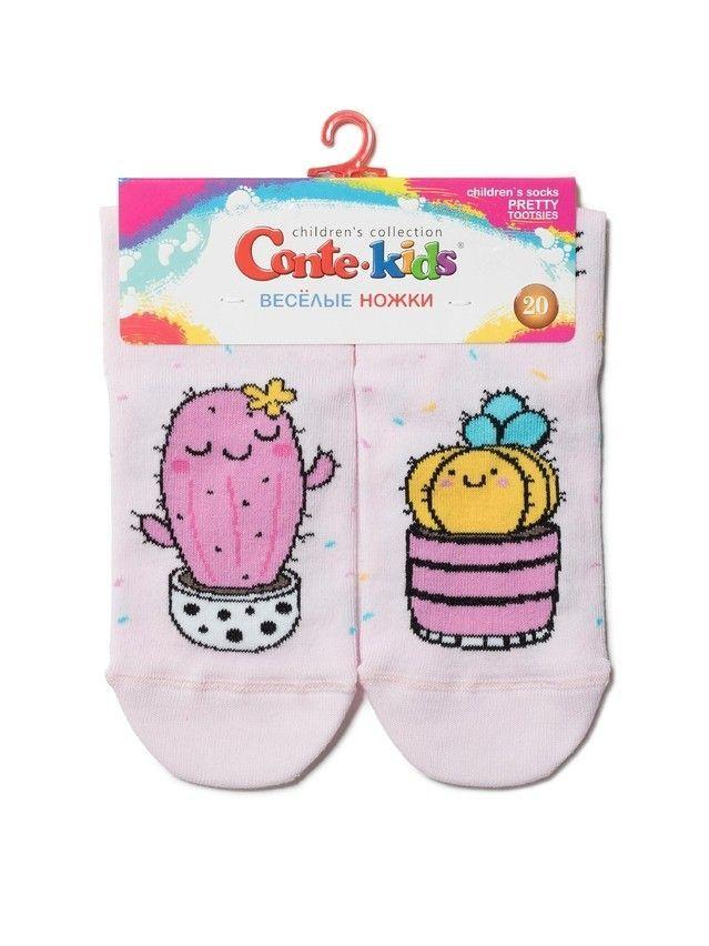 Носки детские Веселые ножки 17С-10СП, р.20, 476 светло-розовый - 2