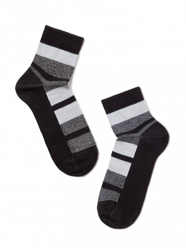 Skarpety damskie bawełniane CLASSIC (lureks) 16С-26СП, r.23, 082 czarny - 2
