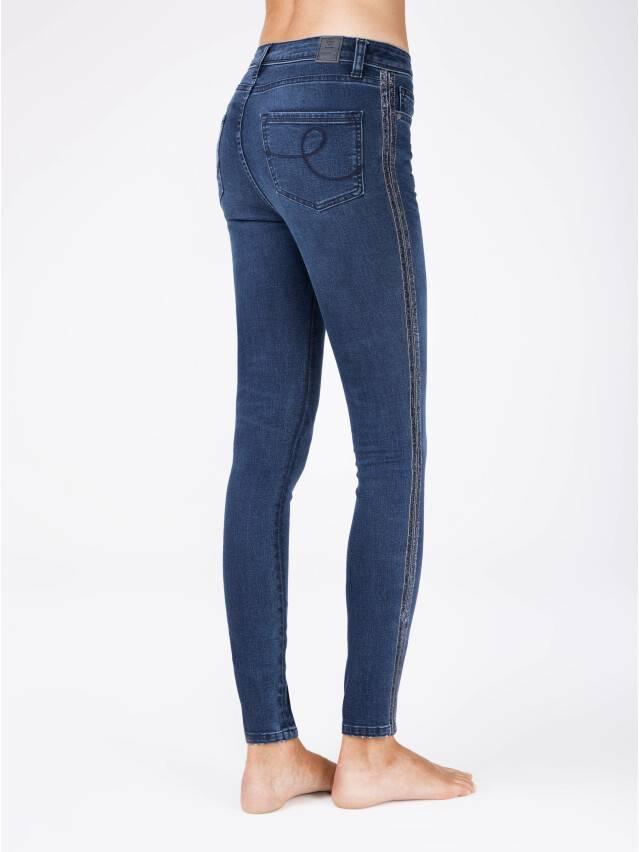 Spodnie jeansowe CONTE ELEGANT CON-99, r.170-90, ciemnoniebieski - 2