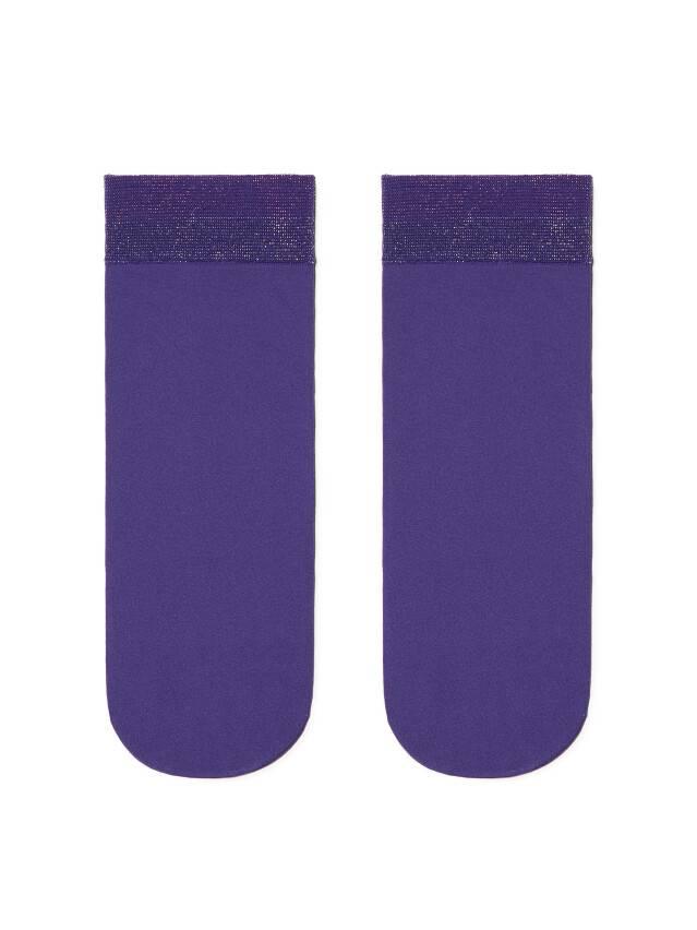 Skarpetki CONTE ELEGANT FANTASY, r.36-39 silver-violet - 2