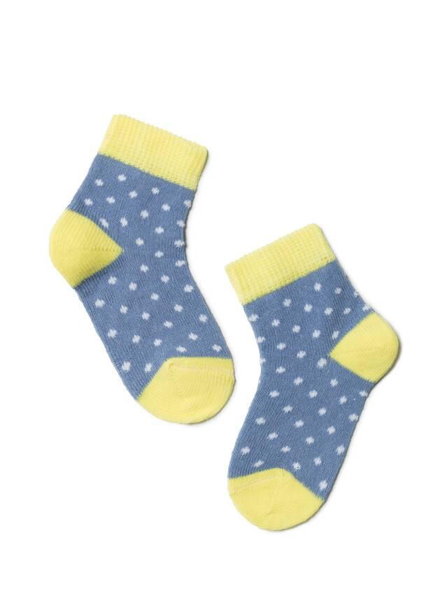 Skarpety dziecięce TIP-TOP, r. 10, 214 jeans-żółty - 1