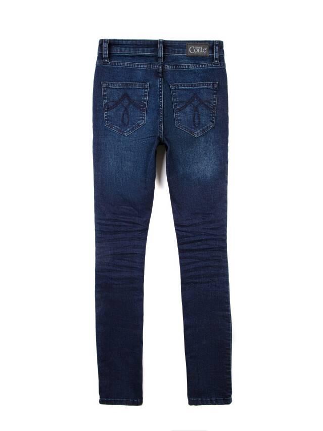 Spodnie jeansowe damskie CONTE ELEGANT 623-100D, r.170-102, ciemnoniebieski - 5
