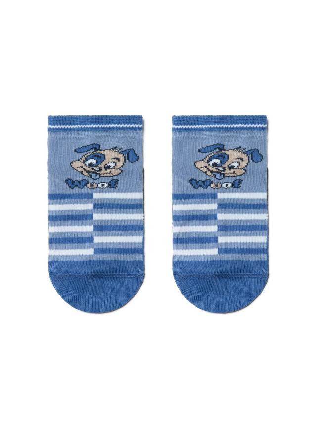 Skarpety dziecięce TIP-TOP (antypoślizgowe),r. 12, 252 niebieski - 1