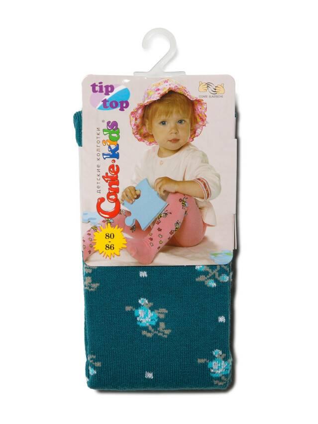 Rajstopy dla dzieci TIP-TOP (7С-78СП),r.80-86 (14),258 ciemnoturkusowy - 2