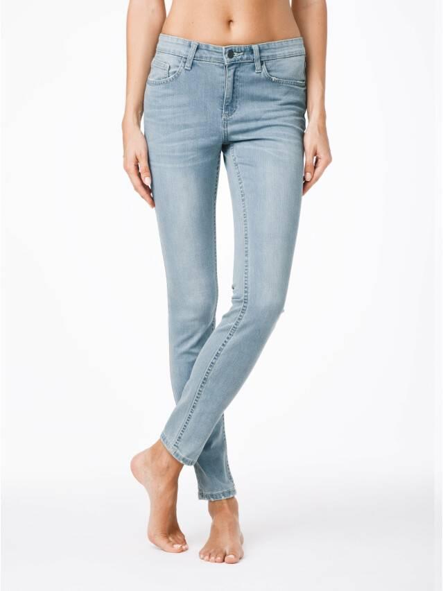 Spodnie jeansowe damskie CONTE ELEGANT 756/3465, r.170-102, błękitny - 1