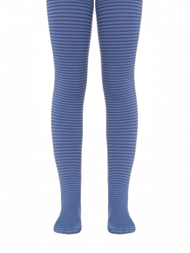 Rajstopy eleganckie dla dzieci MARCIA, r.104-110, violet-sky blue - 1