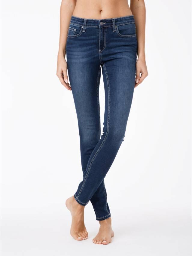 Spodnie jeansowe damskie CONTE ELEGANT CELG 4640/4915D, r.170-102, niebieski - 1