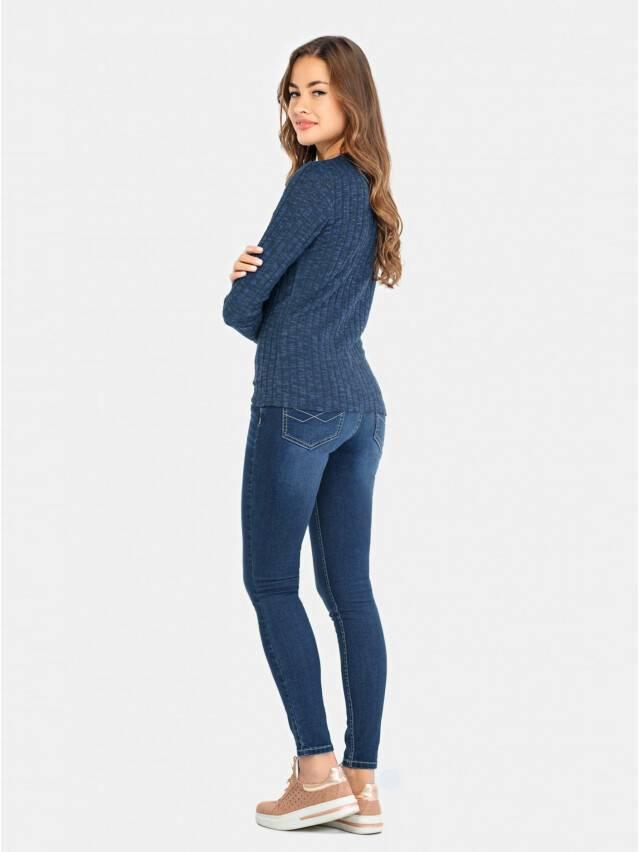Sweter damski CELG LD 676, r.158,164-100, denim - 2