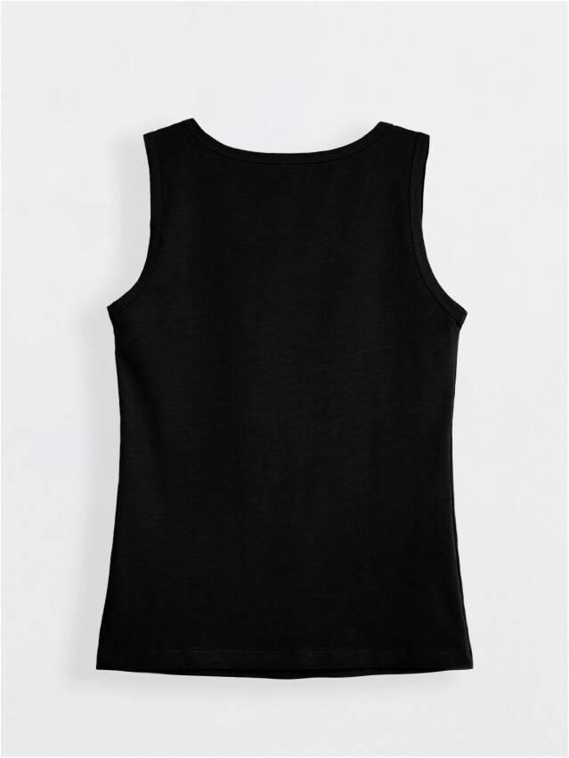 Koszulka damska COMFORT LM 566, r.170,176-100, czarny - 2