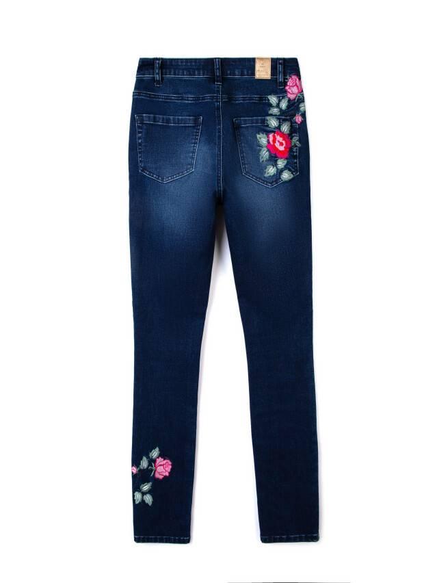 Spodnie denim CONTE ELEGANT CON-53, r.170-94, ciemnoniebieski - 5