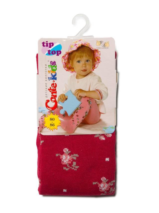 Rajstopy dla dzieci TIP-TOP (7С-78СП),r.80-86 (14),258 bordo - 2