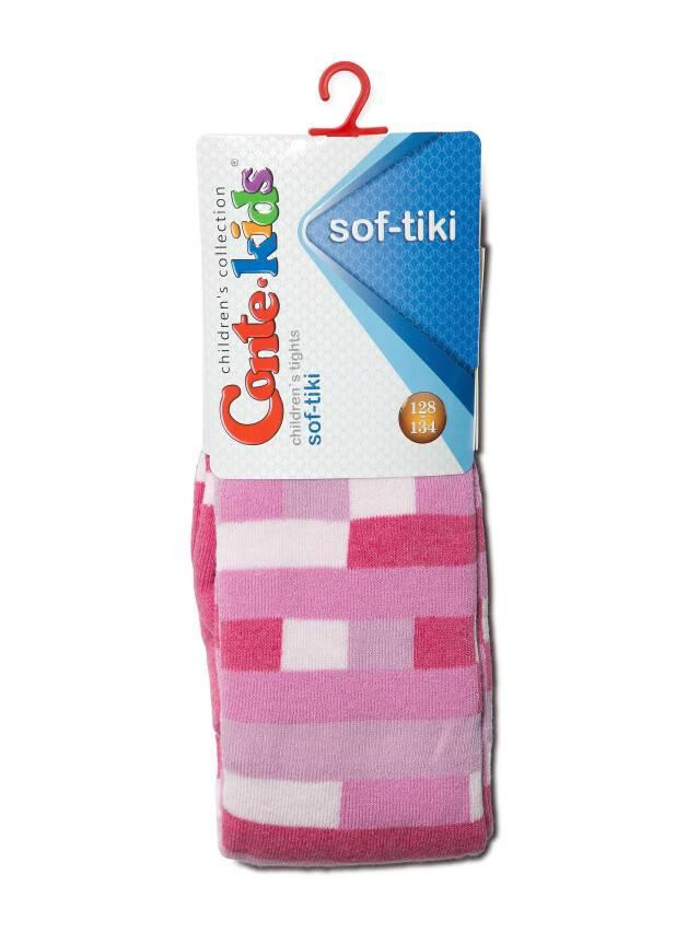 Rajstopy dla dzieci SOF-TIKI 7С-38СП, r. 116-122 (18),393 różowy - 2