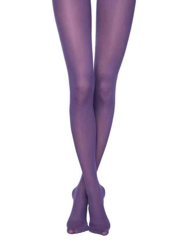 Rajstopy damskie COLOURS TOP, r. 2, violet - 1