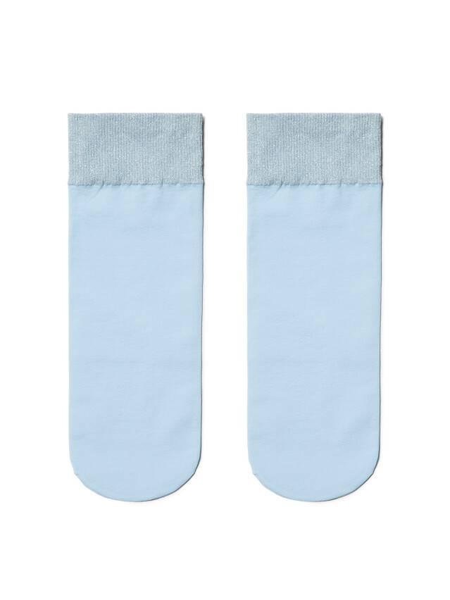 Skarpety poliamidowe damskie FANTASY (lurex) 16С-128СП, r. 23-25, light blue - 2