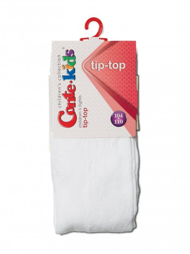 Rajstopy dla dzieci TIP-TOP, r. 104-110 (16),361 biały - 3