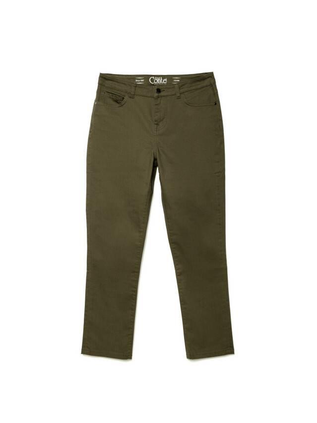Spodnie denim CONTE ELEGANT CON-139A, r.170-94, khaki - 3