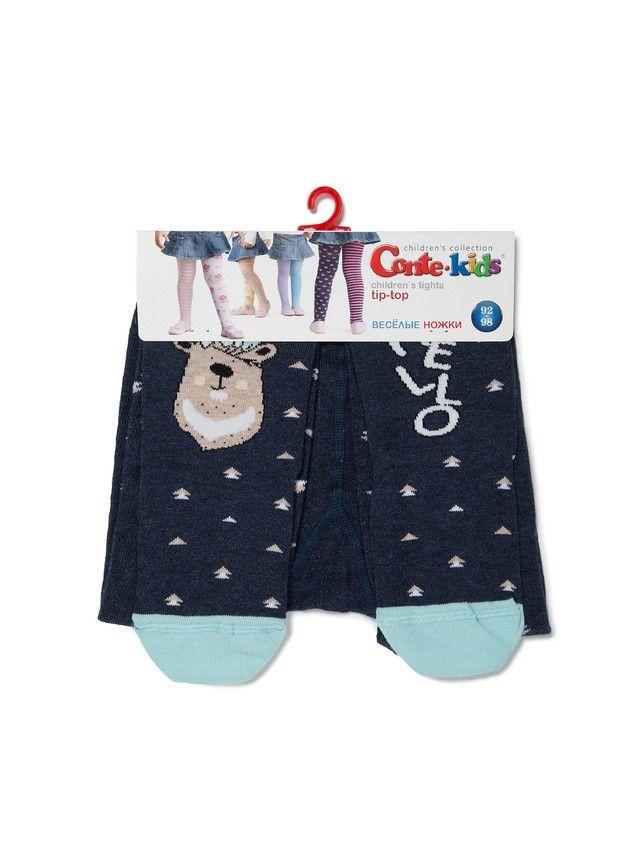 Колготки детские TIP-TOP (весёлые ножки) 14С-79СП, р.104-110 (16),478 темно-синий - 3