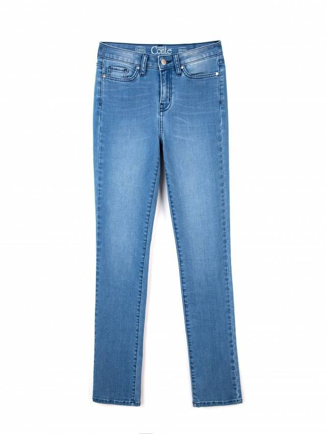 Spodnie denim CONTE ELEGANT CON-47, r.164-90, ciemnoniebieski - 3