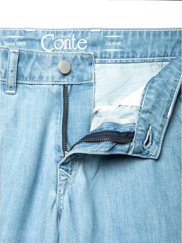 Spodnie denim CONTE ELEGANT CON-140, r.170-102, bleach blue - 8
