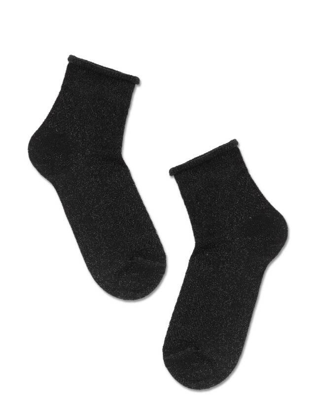 Носки женские вискозные AJOUR 19С-186СП, р.38-39, 180 черный - 2