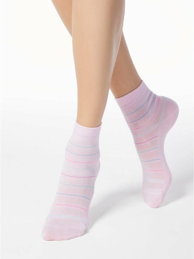 Skarpety damskie CLASSIC, bawełna 15С-15СП, r.23, 088 jasnoróżowy - 1