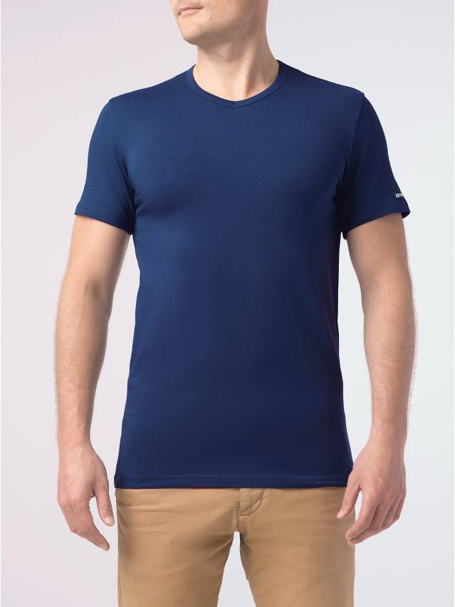 Koszulka męska DiWaRi BASIC MF 745, r.170,176-92, granatowy - 2