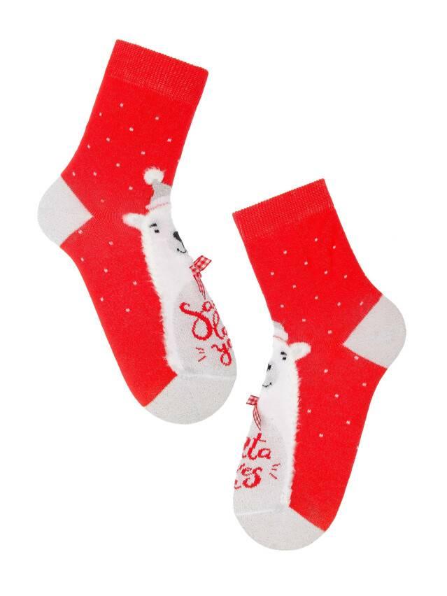 Skarpetki damskie NEW YEAR (krótkie) 18С-73СП, р.36-39, 383 czerwony - 3