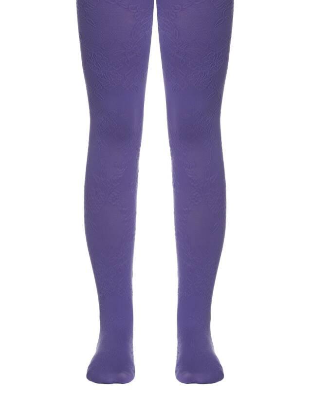 Rajstopy eleganckie dla dzieci MAGGIE, r. 104-110, violet - 1