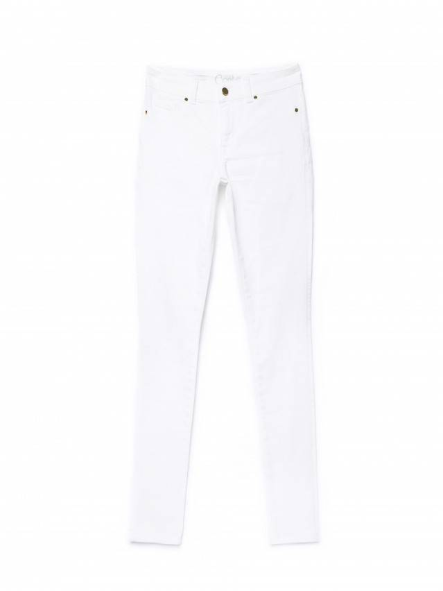 Spodnie denim CONTE ELEGANT CON-128, r.170-102, biały - 4