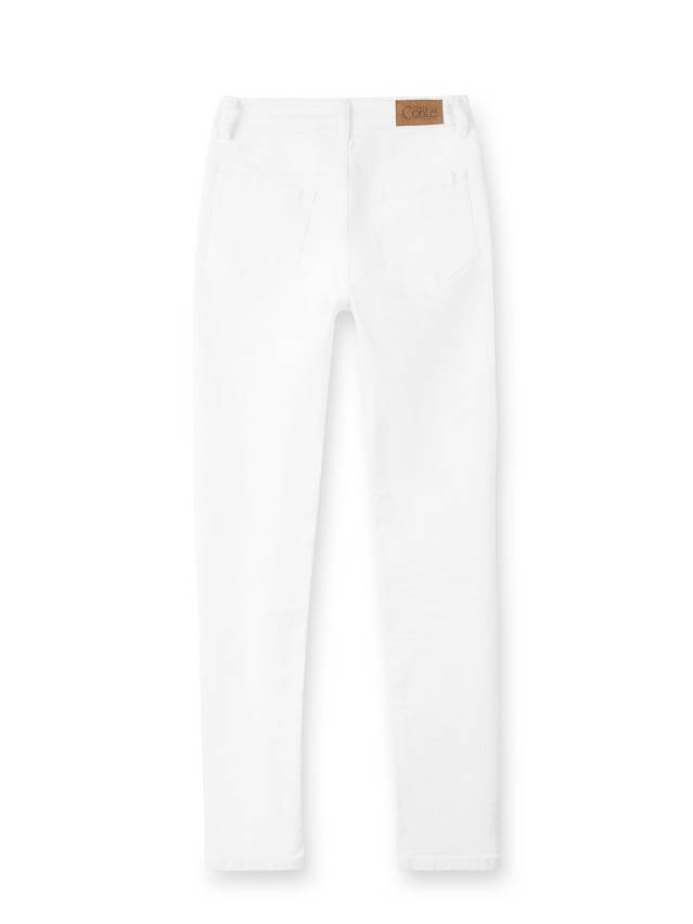 Spodnie denim CONTE ELEGANT CON-38L, r. 170-90, biały - 4