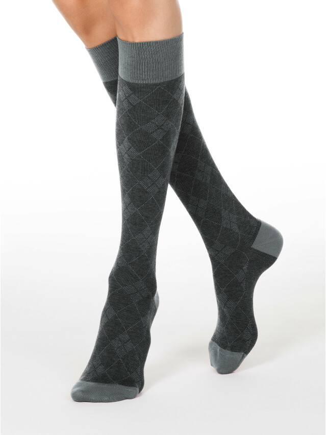 Podkolanówki damskie bawełniane CLASSIC, r. 25, 003 szary - 1