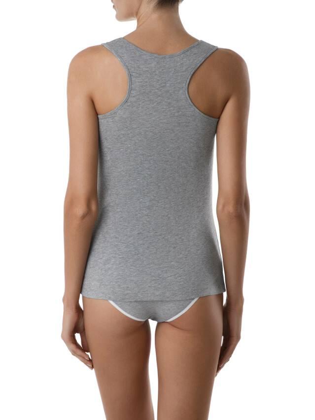 Koszulka damska BASIC LM 646, r. 170,176-100, szary melanż - 4