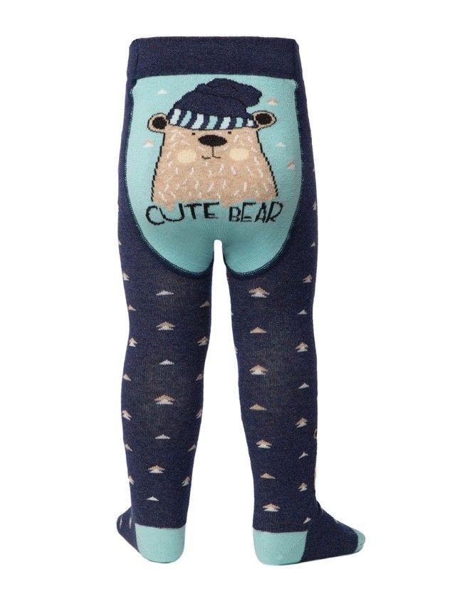 Колготки детские TIP-TOP (весёлые ножки) 14С-79СП, р.104-110 (16),478 темно-синий - 2
