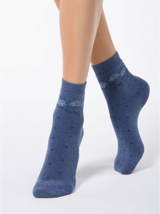 Skarpety damskie COMFORT, bawełna (frotte) 7С-47СП, r. 23, 034 jeans - 1