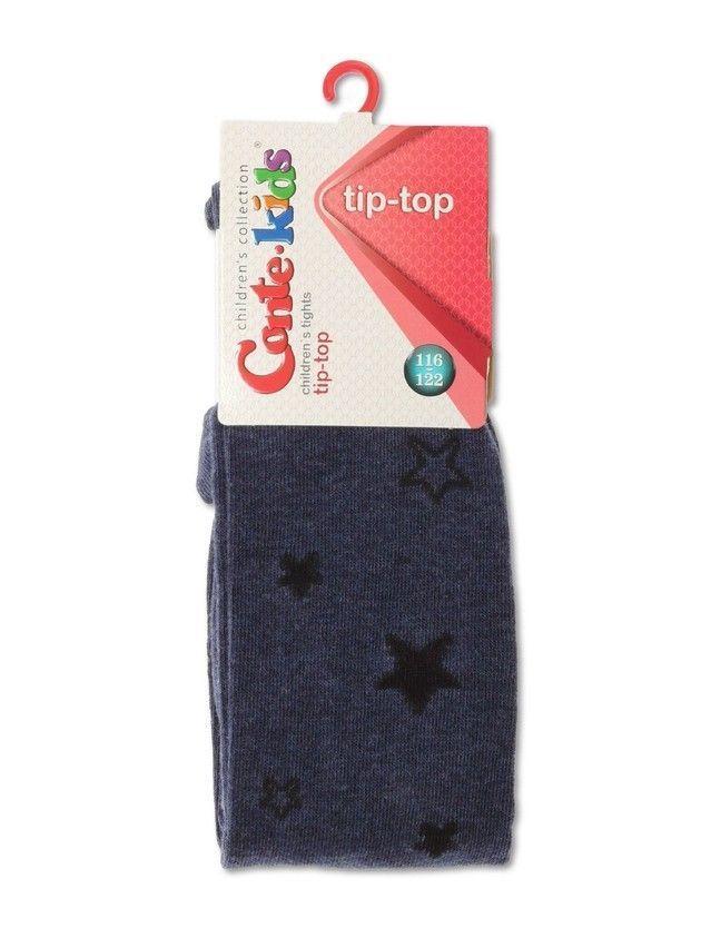 Колготки детские TIP-TOP, р.116-122 (18),543 темный джинс - 2