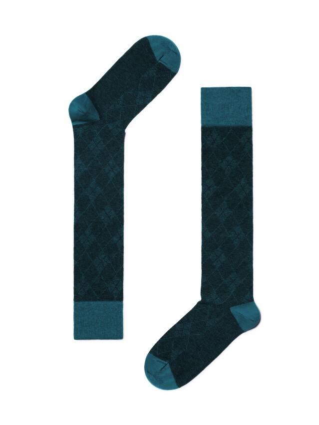 Podkolanówki damskie bawełniane CLASSIC, r. 23, 003 ciemnoturkusowy - 2