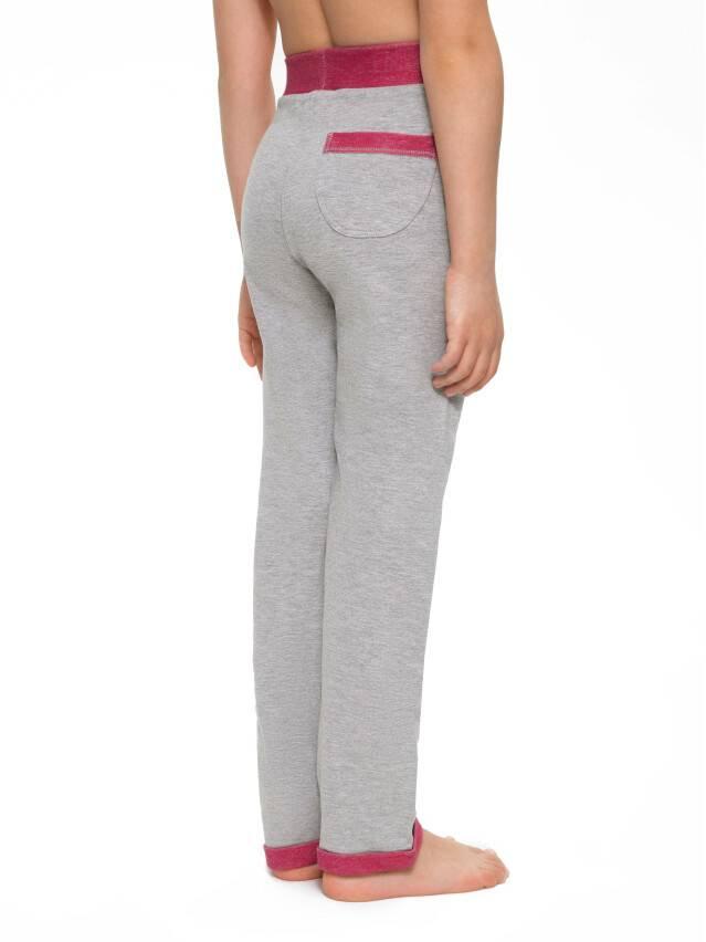 Spodnie dla dziewczynek CONTE ELEGANT JOGGY, r.110,116-56, grey-pink - 4