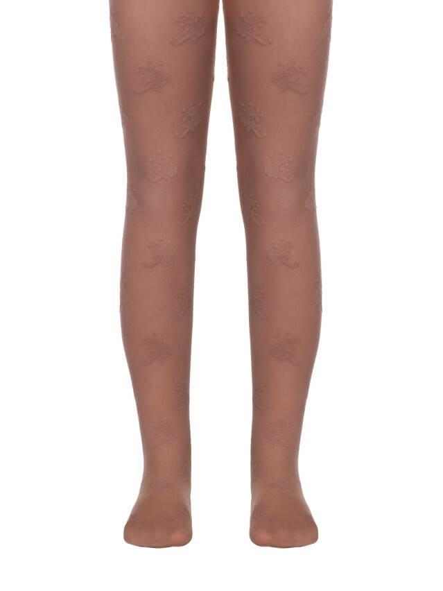 Rajstopy eleganckie dla dzieci LISSA, r. 104-110, natural - 1