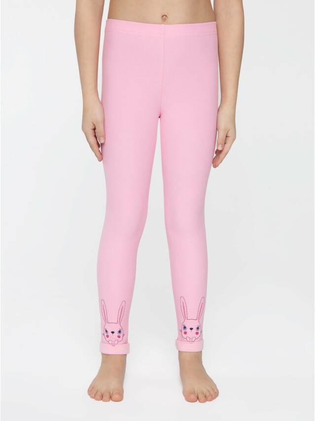 Legginsy dla dziewczynek CONTE ELEGANT FLUFFY, r.104,110-56, pink - 1
