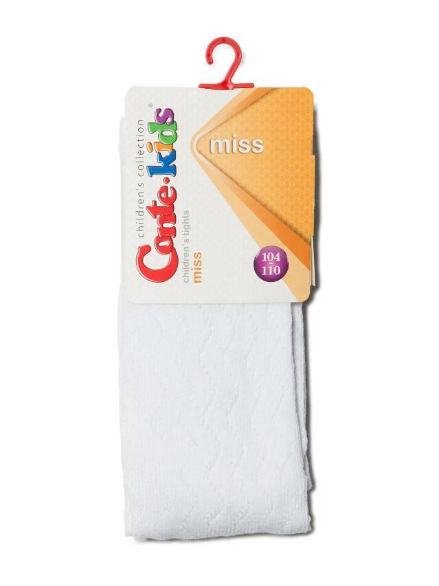 Rajstopy dla dzieci MISS, r.104-110 (16),268 biały - 2