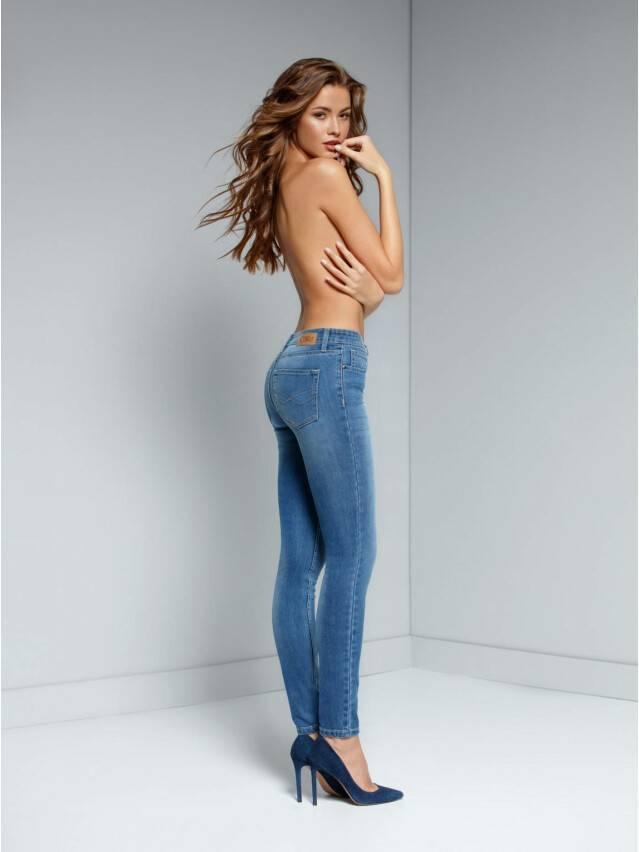Spodnie jeansowe damskie CONTE ELEGANT 756/4909D, r.176-98, niebieski - 3