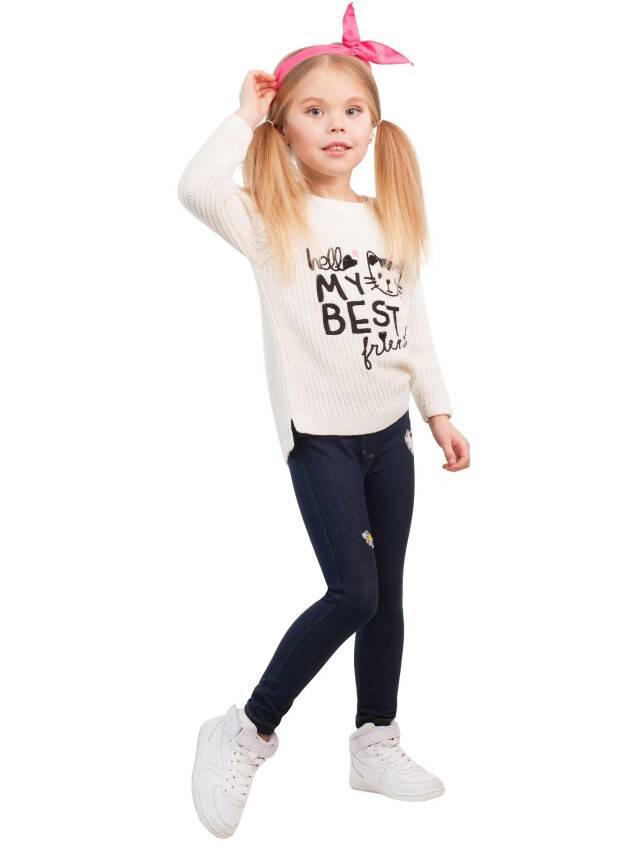 Legginsy dla dziewczynek CONTE ELEGANT MILLY, r.110,116-56, pink - 3