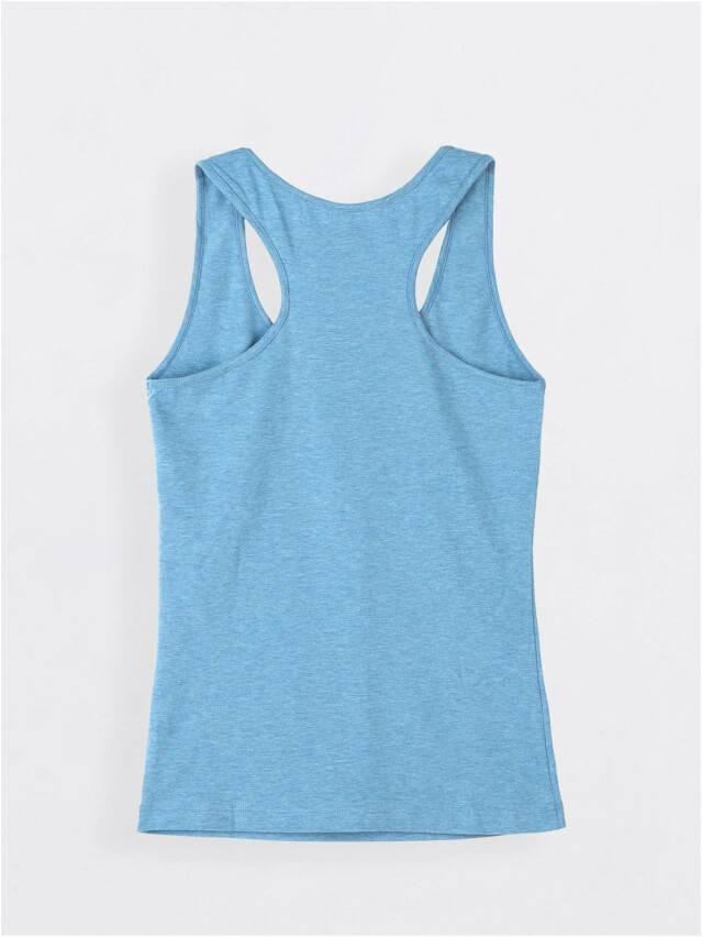 Koszulka damska BASIC LM 646, r. 170,176-92, niebieski melanż - 2