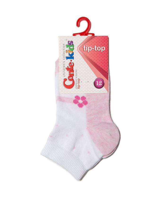 Skarpety dziecięce TIP-TOP, r. 12, 255 biały-jasnoróżowy - 2