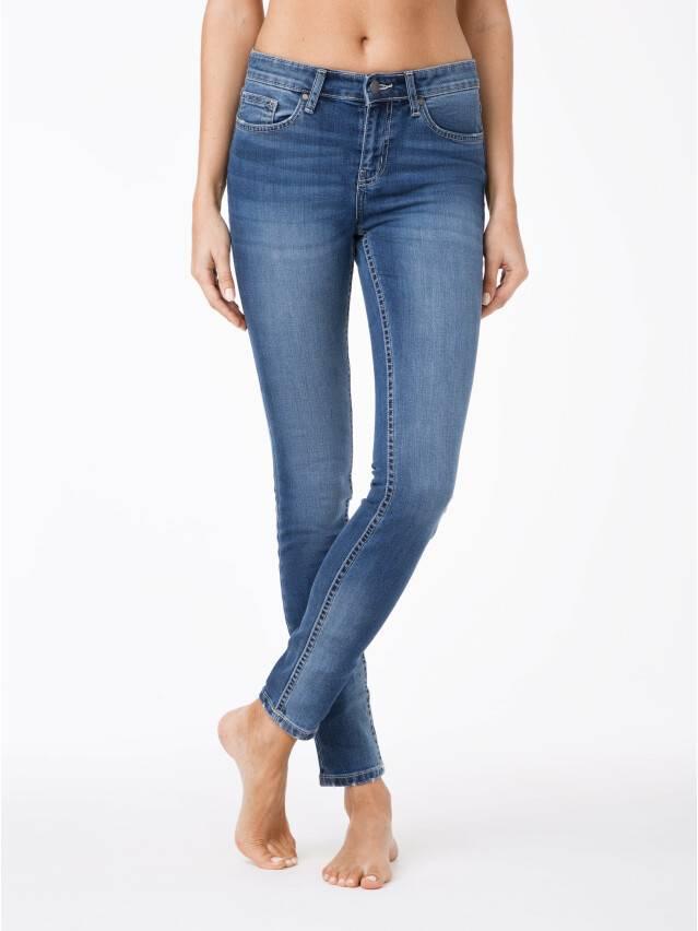 Spodnie jeansowe damskie CONTE ELEGANT 756/4909М, r.170-102, niebieski - 1