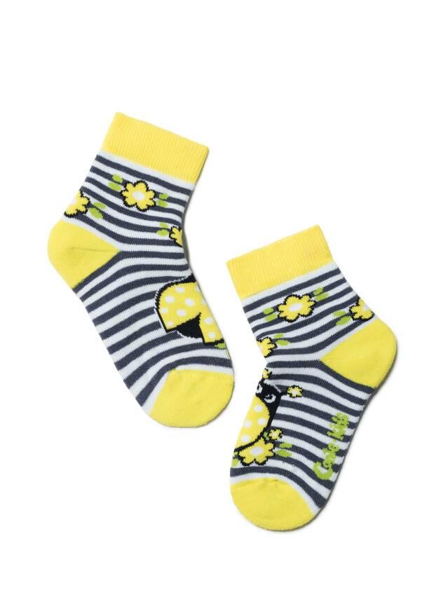 Skarpety dziecięce SOF-TIKI 7С-46СП, r. 14, 246 żółty - 1