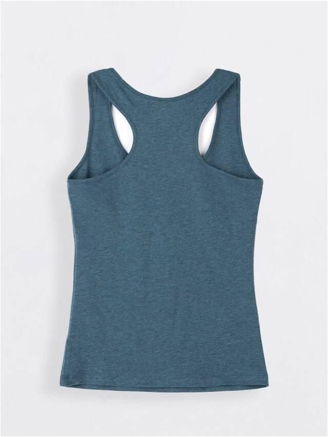 Koszulka damska BASIC LM 646, r.158,164-88, granatowy melanż - 2